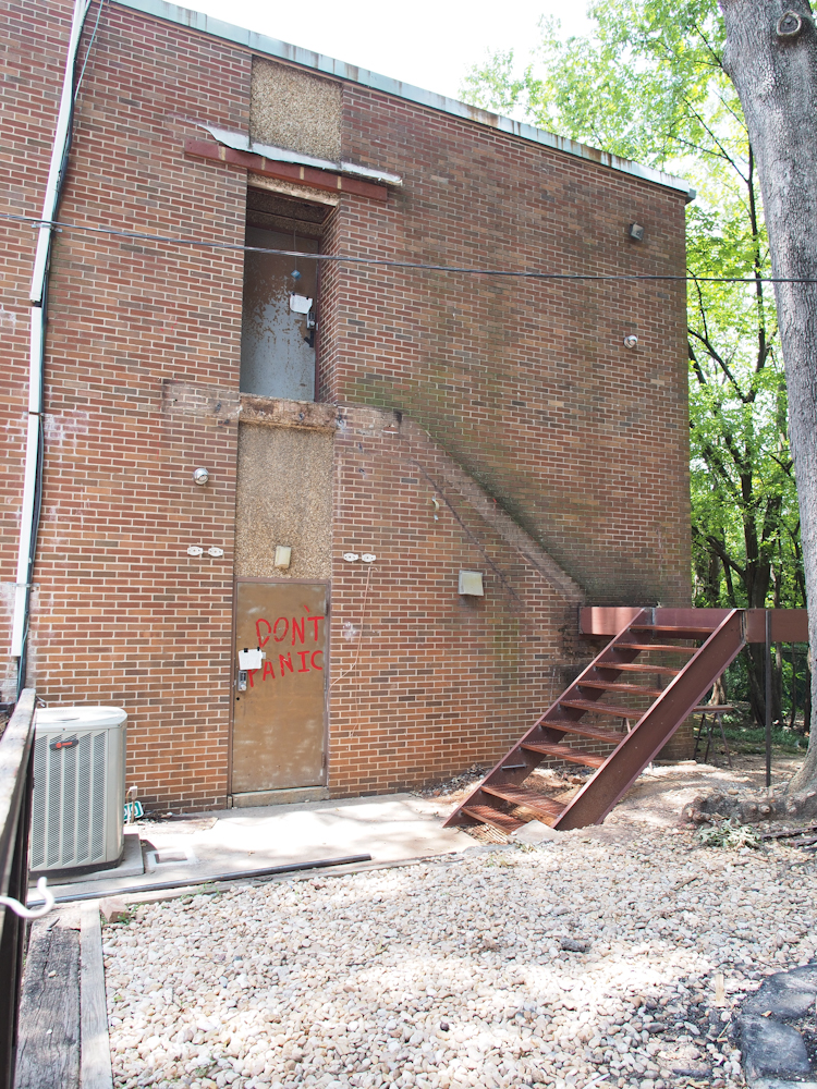 Removed Rear Stairwell